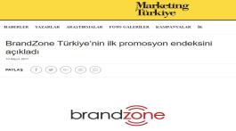 BrandZone 2017 İlk Çeyrek Promosyon Endeksi