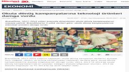 Okula dönüş kampanyalarına teknoloji ürünleri damga vurdu