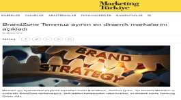 BrandZone published the most dynamic brands of July