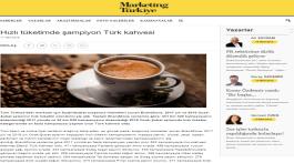 Turkish Coffee is the champion of FMCG