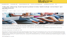 Technology campaigns captured attention in Back to School Period