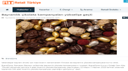 Bayram Chocolate campaings are incresing