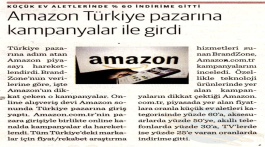Amazon entered the Turkish Market with campaigns