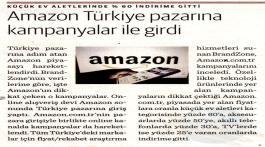 Amazon Türkiye pazarına kampanyalar ile girdi
