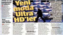 Yeni moda Ultra HD TV'ler